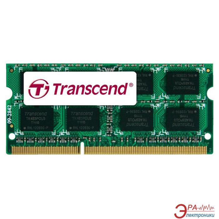 Оперативная память SO-DIMM DDR3 4 Gb 1600 МГц Transcend JetRam (JM1600KSH-4G)