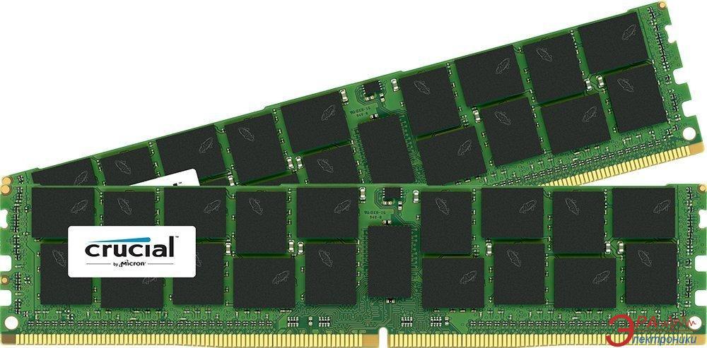 DDR4 ECC DIMM 288-контактный 2x16 Gb 2133 MHz Crucial (CT2K16G4RFD4213)