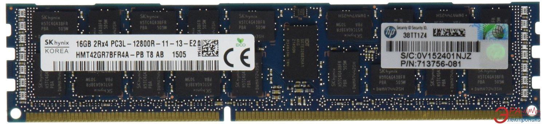 DDR3 ECC DIMM 240-контактный 16 Gb 1600 MHz HP (713985-B21)