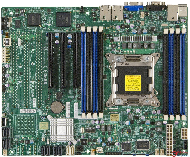 Серверная материнская плата SuperMicro X9SRI-F