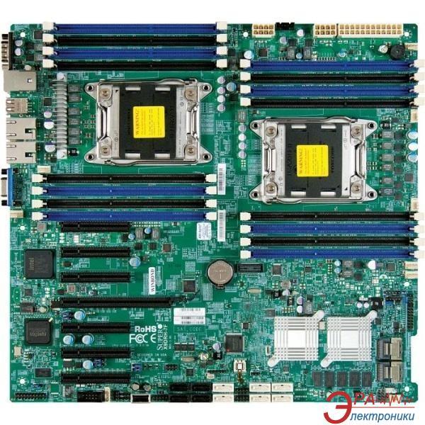 Серверная материнская плата SuperMicro X9DRH-7F