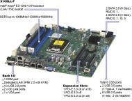 Серверная материнская плата SuperMicro MBD-X10SLL+-F-B
