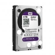 Винчестер для сервера HDD SATA III 4TB WD IntelliPower 64Mb Cache Purple NV (WD4NPURX)