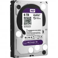 Винчестер для сервера HDD SATA III 6TB WD Purple NV (WD6NPURX)