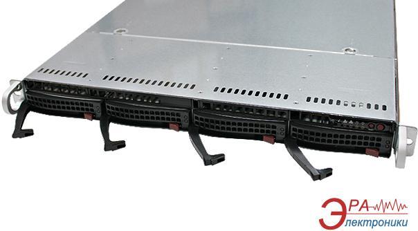 Серверный корпус SuperMicro SuperChassis 1U 600W (CSE-815TQ-600WB)