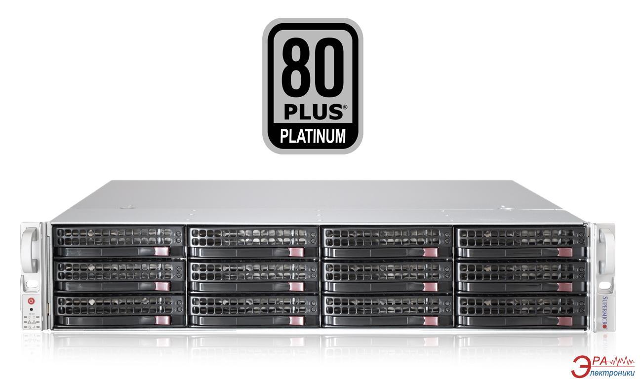 Серверный корпус SuperMicro SuperChassis 2U 920W (CSE-826BE16-R920LPB)