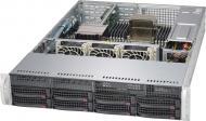 Серверный корпус SuperMicro SuperChassis 2U 400W (CSE-822T-400LPB)