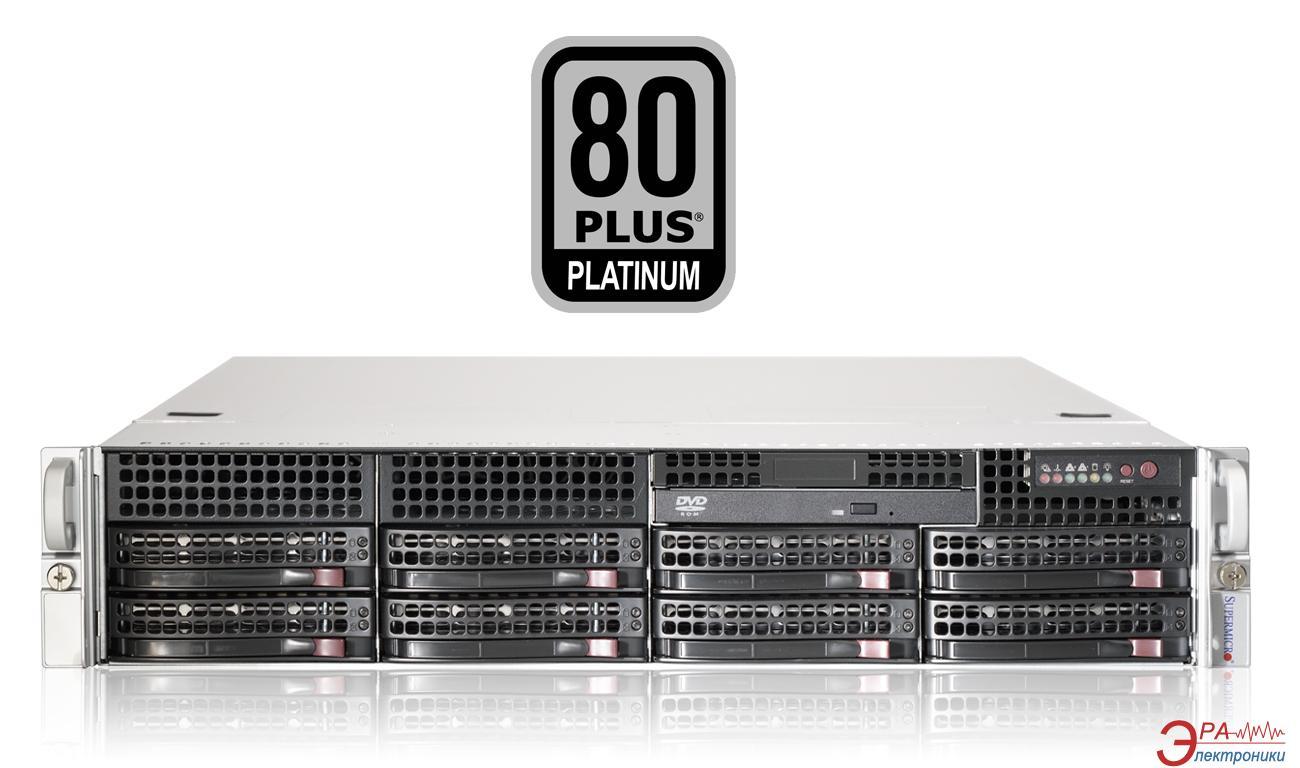Серверный корпус SuperMicro SuperChassis 740W 2U (CSE-825TQ-R740LPB)