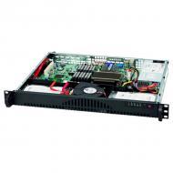 Серверный корпус SuperMicro SuperChassis Black 1U (CSE-512L-200B)
