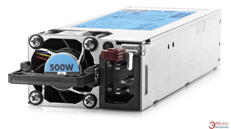 Блок питания для сервера HP 500W Flex Slot Platinum Hot Plug Power Supply Kit (720478-B21)