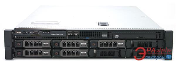 Сервер DELL R530 1xE5-2620v3 (210-R530-PR20)