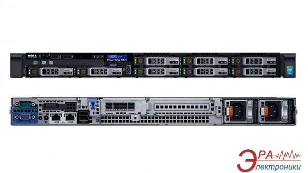 Сервер DELL PowerEdge R330 A2 (210-AFEV A2)