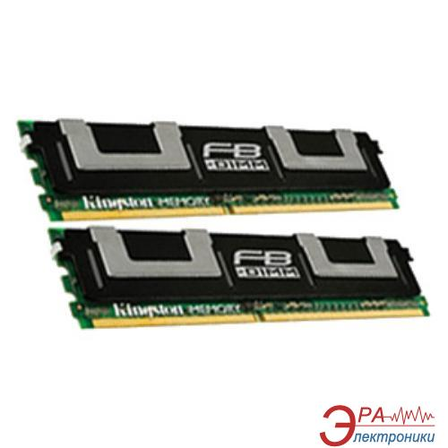 DDR2 ECC FB-DIMM 240-контактный 2x8 Gb 667 MHz Kingston (KTD-WS667/16G)
