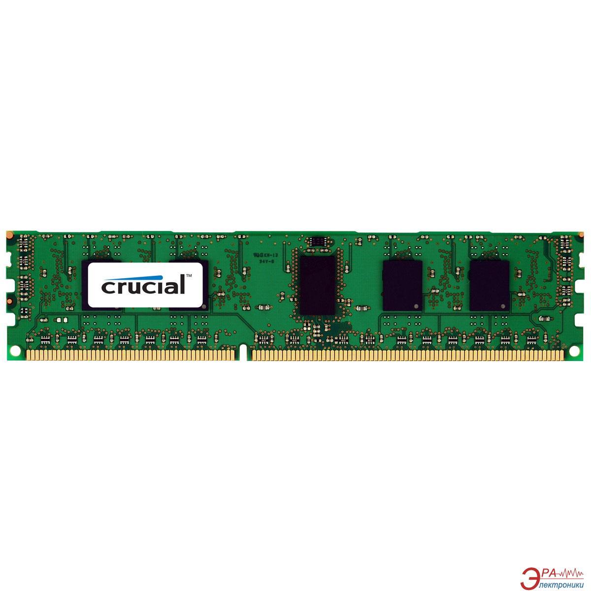 DDR3 ECC DIMM 240-контактный 8 Gb 1333 MHz Crucial Dual Ranked (CT102472BQ1339)