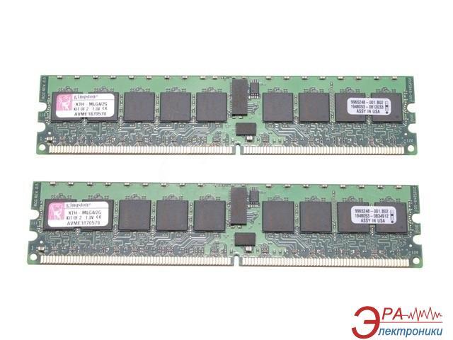DDR2 ECC DIMM 240-контактный 2x2 Gb 400 MHz Kingston (KTM2865SR/4G)