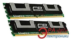DDR2 ECC FB-DIMM 240-контактный 2x4 Gb 667 MHz Kingston для HP (KTH-XW667/8G)