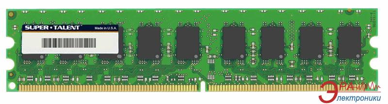 DDR2 ECC DIMM 240-контактный 1 Gb 667 MHz Super Talent (T667EB1G/S)