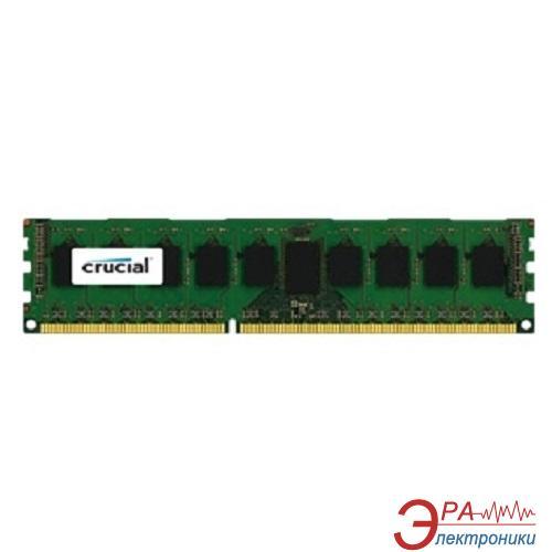 Память для серверов DDR3 ECC 8 Gb 1866 MHz Crucial (CT8G3ERSDS4186D)
