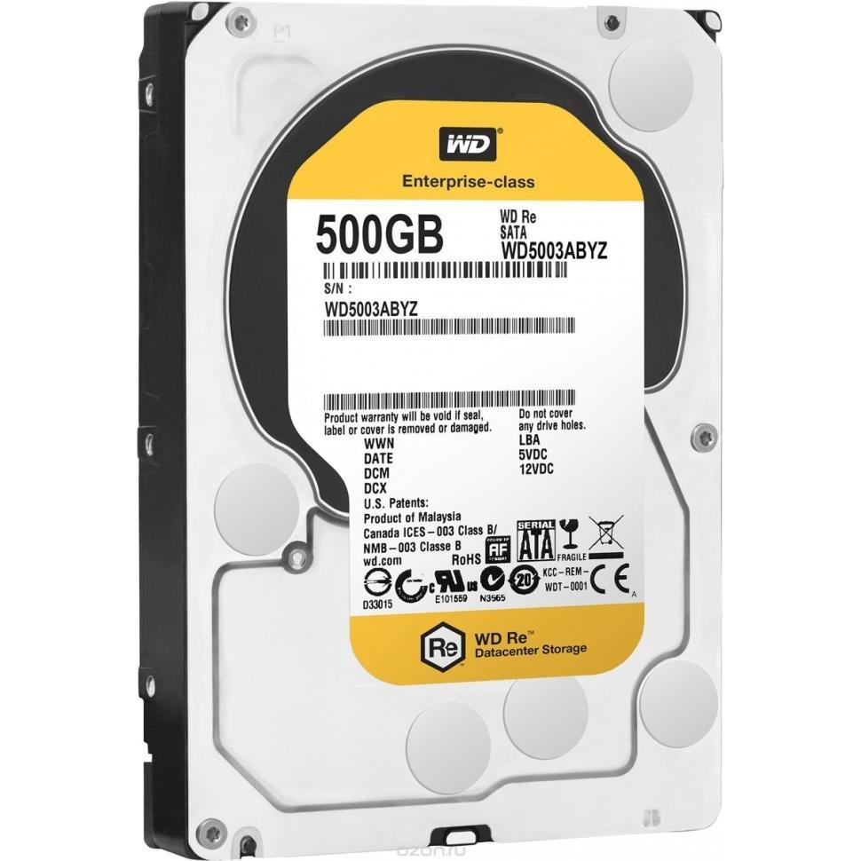 Жесткий диск 500GB WD RE (WD5003ABYZ)