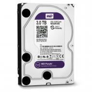 Винчестер для сервера HDD SATA III 3TB WD Purple (WD30PURX)