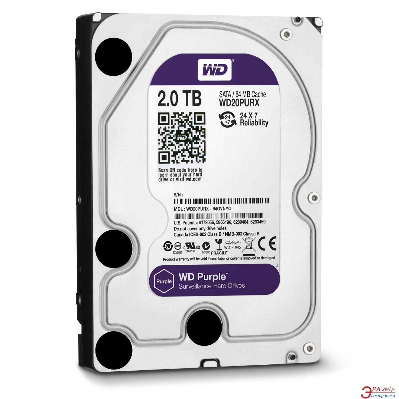 Жесткий диск 2TB WD Purple (WD20PURX)
