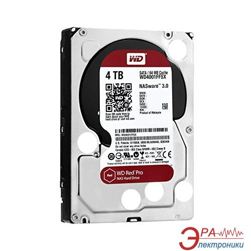 Жесткий диск 4TB WD Red Pro (WD4001FFSX)