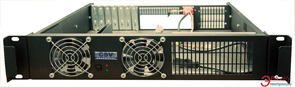 Серверный корпус CSV 2U-LC 6HDD 400W