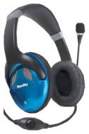 Гарнитура Hardity HP-440MV Black\Blue