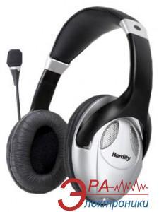 Гарнитура Hardity HP-440MV Black\Silver