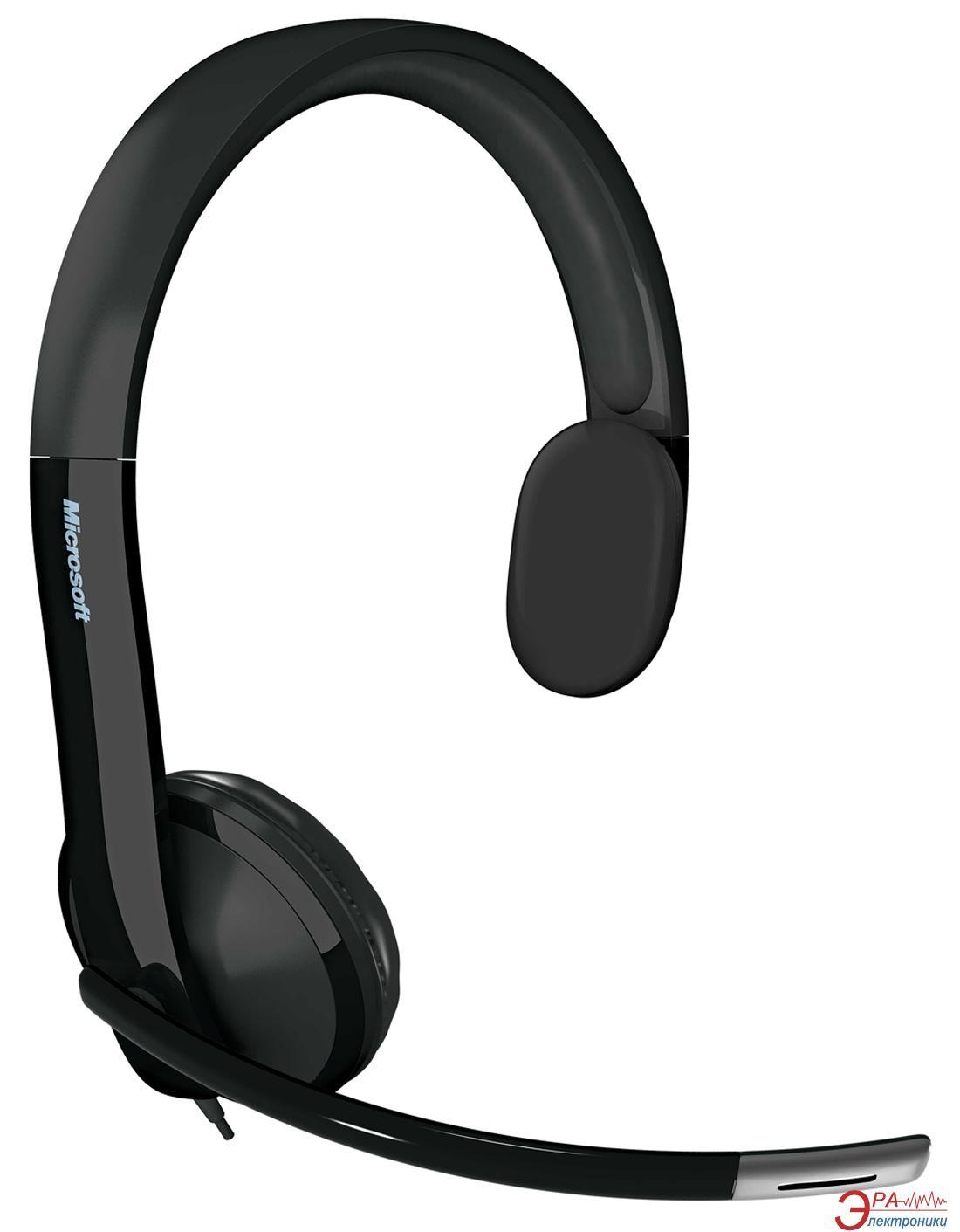 Гарнитура Microsoft LifeChat LX-4000 USB Ret black (7YF-00001)