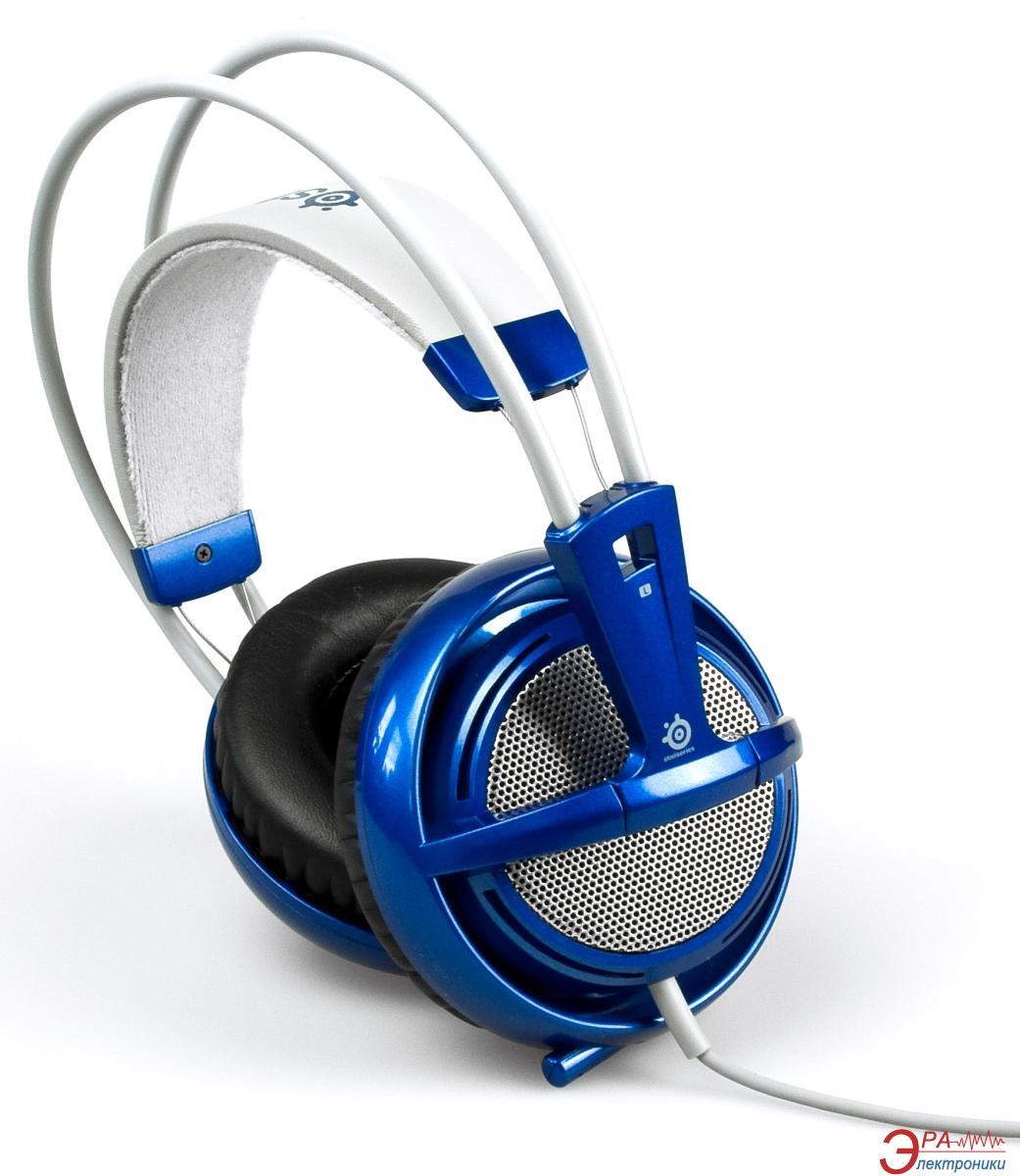 Гарнитура SteelSeries Siberia V2  Blue (51107)