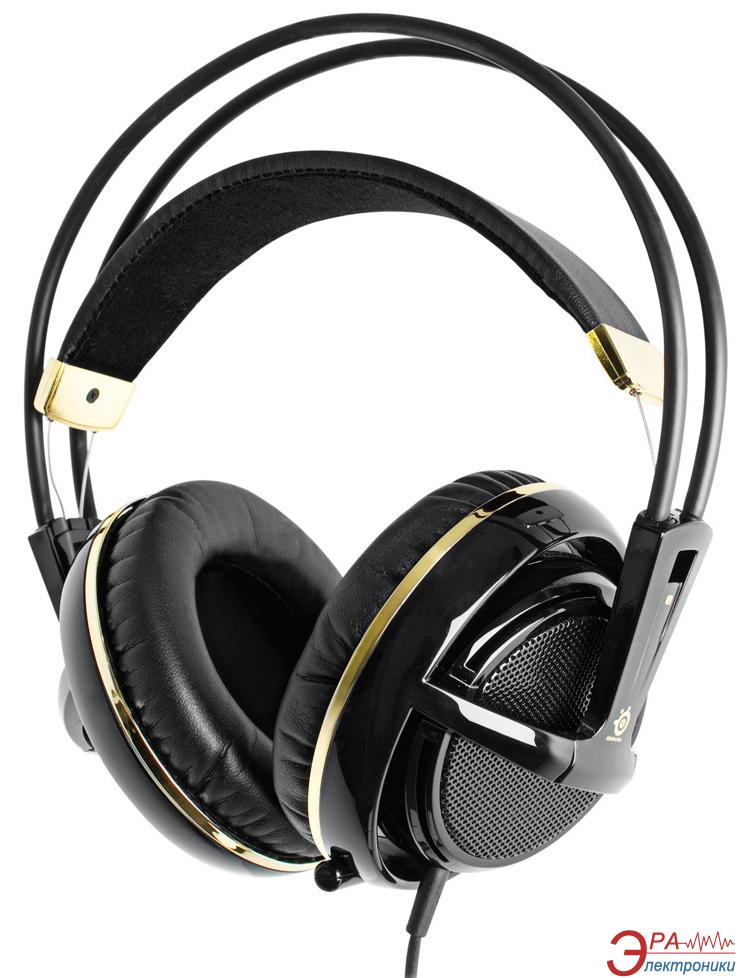 Гарнитура SteelSeries Siberia V2 Black & Gold (51110)