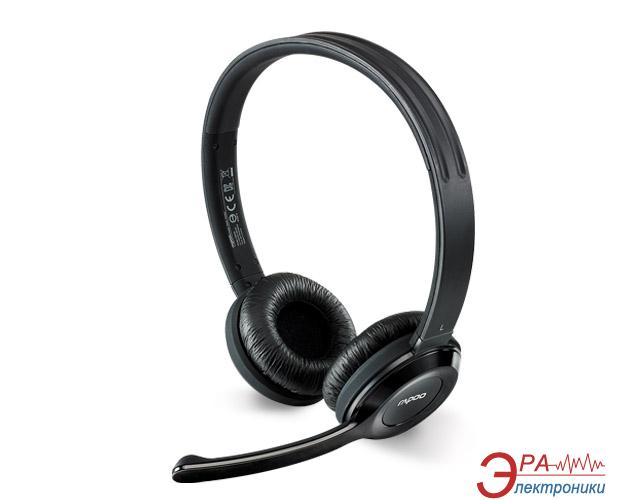 Гарнитура Rapoo Wireless Stereo Headset Black (H8030)
