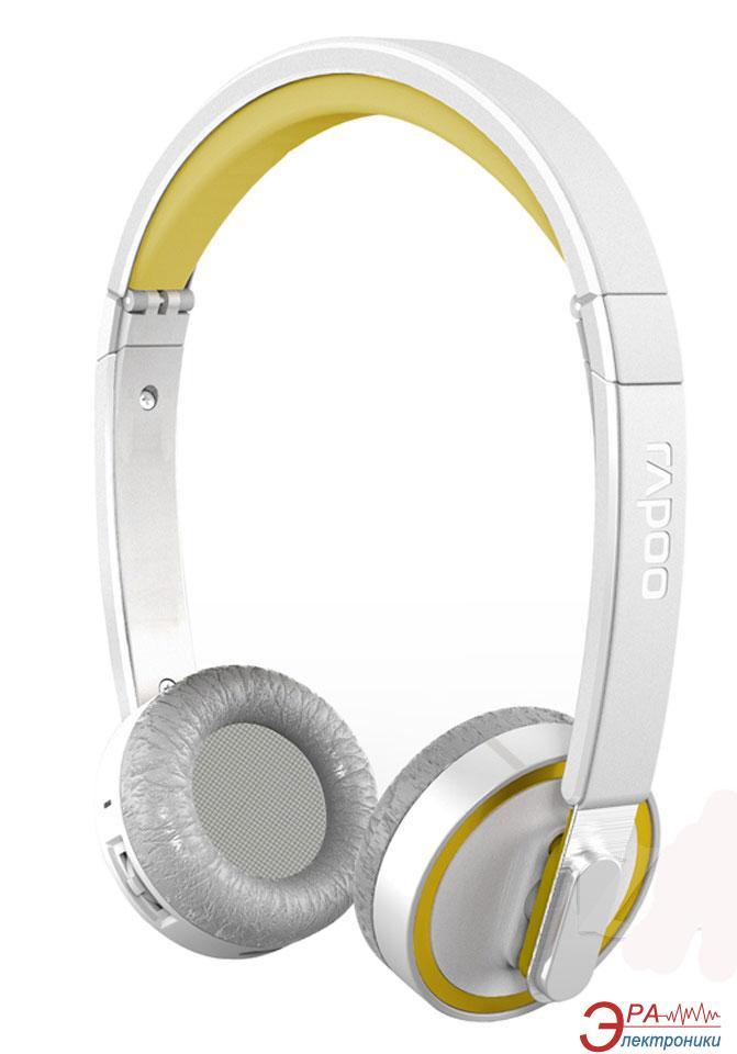 Гарнитура Rapoo Bluetooth Foldable Headset Yellow (H6080)