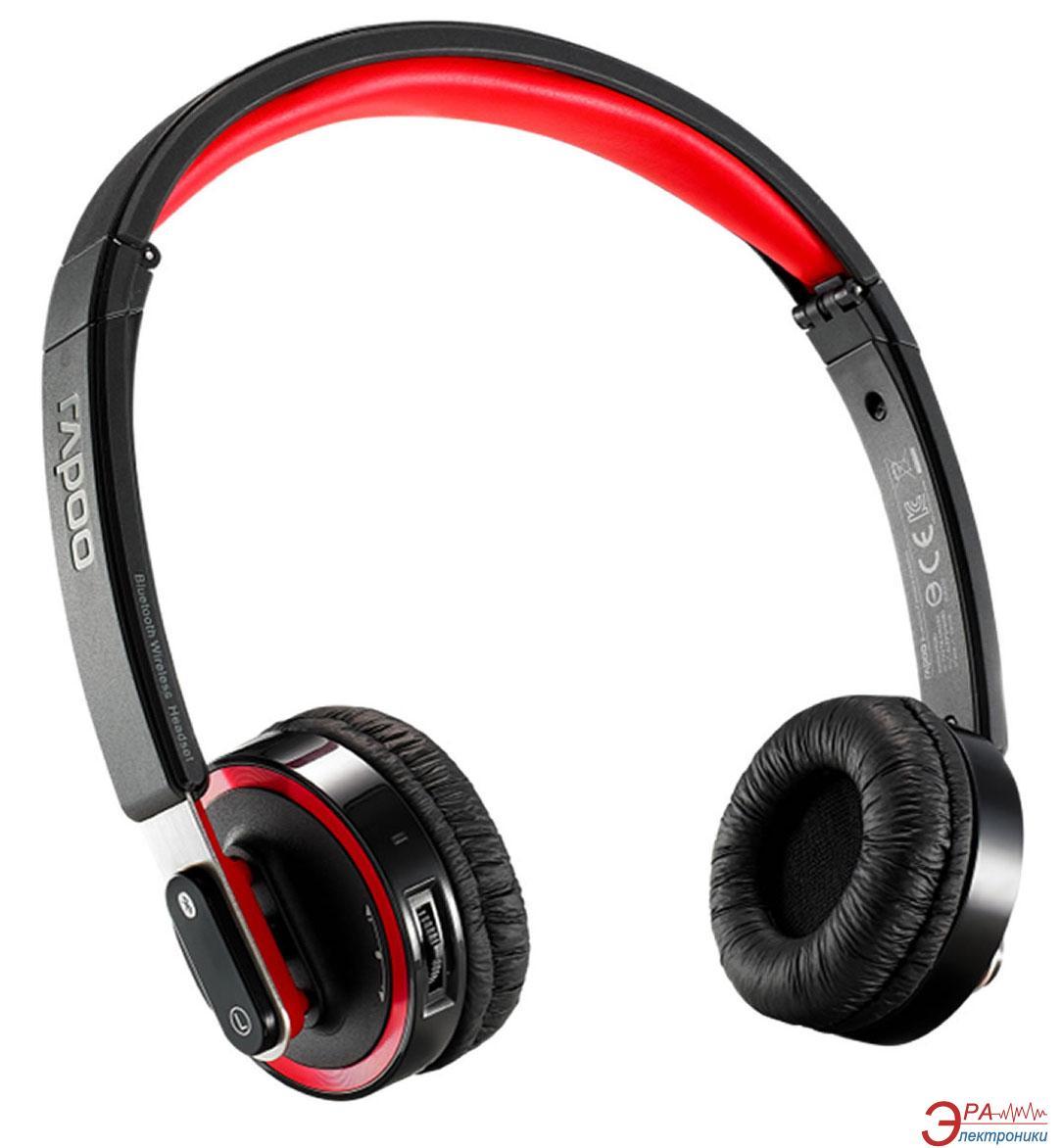 Гарнитура Rapoo Bluetooth Foldable Headset Black (H6080)