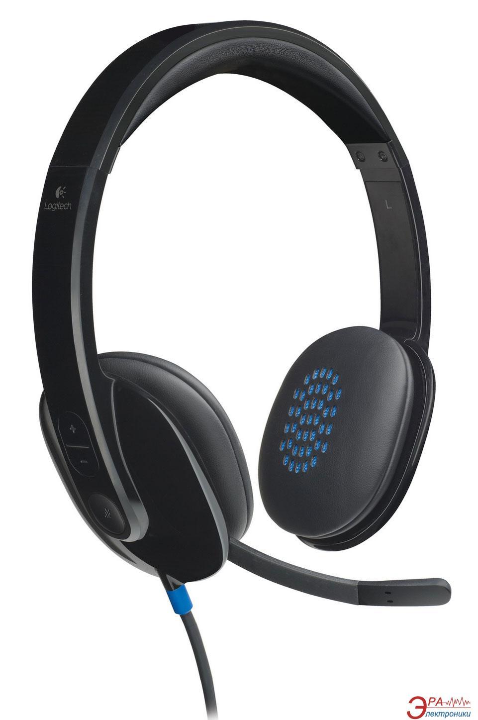 Гарнитура Logitech H540 Headset USB (981-000480)