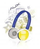 Гарнитура Speed Link Aux - Ffreestyle Stereo Headset blue-yellow (SL-8752-BEYW)