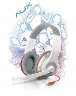 ��������� Speed Link AUX White-red Stereo Headset (SL-8755-WTRD)