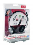Гарнитура Speed Link KALLIOPE VX Stereo Headset - USB, black-silver (SL-8775-BKSV)