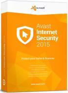Антивирус Avast! Internet Security 2015 (4820153970311) 1 год 1ПК продление Русская