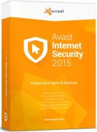 Антивирус Avast! Internet Security 2015 (4820153970328) 1 год 3ПК продление Русская
