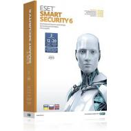 Антивирус Eset Smart Security 6 2PC 1Y BOX (ESSB-21220) Русская