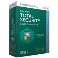 Антивирус Kaspersky Total Security (Multi-Device) 1+1 Device 1 year Base (KL1919OUBFS16) Box Русская