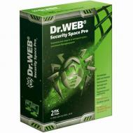 Антивирус Dr. Web® Security Space Pro BOX 1 года 2ПК Русская