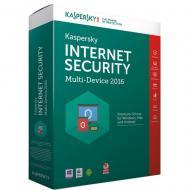 Антивирус Kaspersky Internet Security 2016 1+1PC 1Y Base Box (KL1941OBAFS16) 2 ПК 1 год Русский / Английский / Украинский