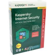 Антивирус Kaspersky Internet Security 2017 Eastern Europe Edition 1Dvc 1Y+3mon. Renewal Box (KL1941OBAFR_2017) 1 ПК 1 год + 3 мес Русский / Английский / Украинский