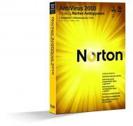 Антивирус Symantec NORTON ANTIVIRUS 2010 (20103070) 1 USER 1 год Русская