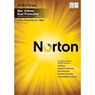 Антивирус Symantec NORTON ANTIVIRUS DUAL PROTECTION MAC 2010 RET (20098144) 1 USER 2 MAC Английская