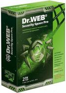 Антивирус Dr. Web® Security Space Pro BOX 2года 2ПК Русская