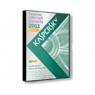 Антивирус Kaspersky Internet Security 2011 BOX Продовження на 5ПК, 1год Русская